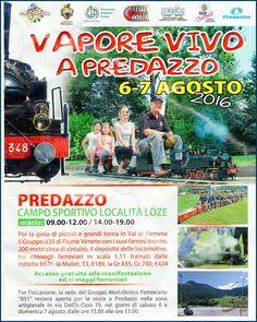 """""""Vapore Vivo"""" fischia il treno a Predazzo"""