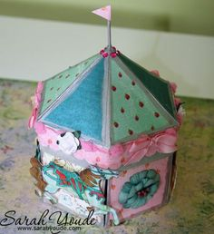 Exploding carousel...includes link to template and video tutorial.  Amazing inside!