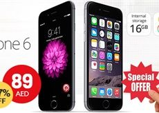 #Awok  offer  89/- only! Apple #iPhone6   16GB, Space Gray *T&C Apply!  See more>>> awok.co/wOdzIQ