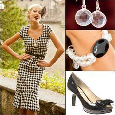 Shabby Apple Estate Dress-Cute checkered look.