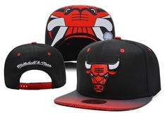 NBA Chicago Bulls Mitchell And Ness Snapback Hats