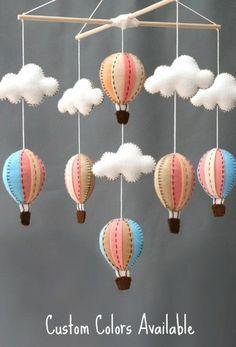 Lottie Da Baby Hot Air Balloon Nursery Mobile