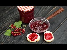 Photo about Delicious Homemade Red Currant Jam. Canned Summer for cold seasons. Image of season, seasons, summer - 120168845 Red Currant Jam, Summer Recipes, Pickles, The Creator, Natural, Homemade, Seasons, Vegetables, Summer Food