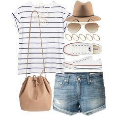 Outfit for visiting the beach