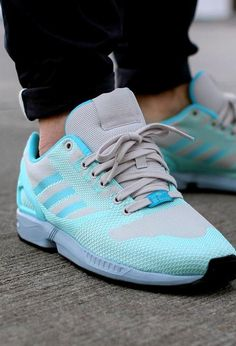 online store 9bbad 48755 i love my new tropical twist blue runing shoes - adidas zx flux weave shoes  originals