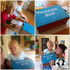 Zronione z dziećmi Treasure Boxes, Diy, Bricolage, Do It Yourself, Homemade, Diys, Crafting