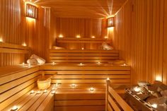 How to Build a Basement Sauna. Labor Junction / Home Improvement / House… Basement Sauna, Sauna Room, Basement House, Building A Sauna, Building A Basement, Tropical Bathroom, Bathroom Spa, Master Bathrooms, Tropic Spa