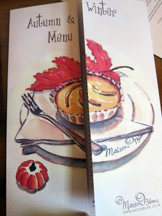 Maison blanc to view my menu artwork