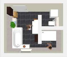 Badezimmer beispiele 10qm | فطوم | Pinterest | Small bathroom, House ...