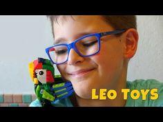 PAPPAGALLO LEGO CREATOR - Leo Toys