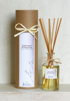 Cedarwood Ylang Ylang - Natural Rattan Reed Diffusers | #fragrance | #beautyjobs | www.arthuredward.co.uk