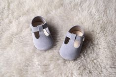 Baby Girl Shoes, Gray Toddler Girl Shoes, Baby Shoes, Leather Baby Shoes, Toddler Shoe, Gift For Girls, T Strap Mary Jane Shoe, Baby Gift