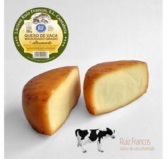 Quesos Cántabros - Queso de vaca ahumado madurado graso. Ruiz Francos