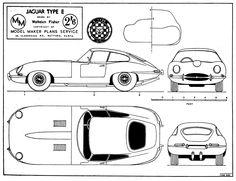 Jaguar E-Type (1961) | SMCars.Net - Car Blueprints Forum