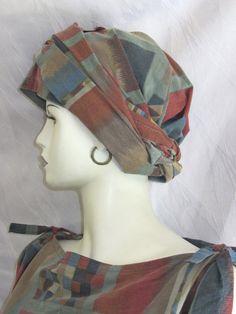 Dieser Turban wurde für die *Aktion KunstRaub Nr. 6* angefertigt und wird für die Dauer der Aktion versandkostenfrei angeboten.  Als Inspirations...
