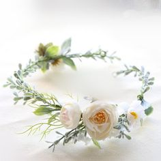 $29 Sylvia Flower Crown - Check out more choices www.indieknot.com and our Etsy store!