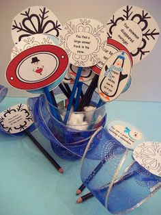 winter writing prompts -- 2nd grade