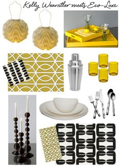 i love anything yellow and black. maybe i should throw and y&b party theme =)