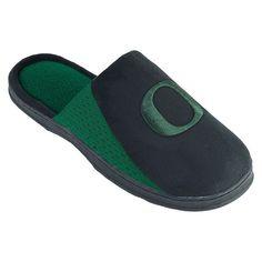 Men's Oregon Ducks Scuff Slippers, Black
