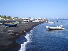 Spiagge nere, Stromboli, Italia