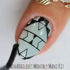 Scratch nail wraps - Easy application method