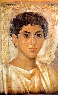 Portrait of a Young Man Rome (100-200CE) Museum No one truly knows who he is just that he once existed.