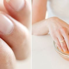 Jak zapuścić zdrowe i długie paznokcie w 10 dni? Tania megamikstura Manicure, Hair Beauty, Make Up, Wedding Rings, Engagement, Healthy, Diy, Nail Bar, Makeup