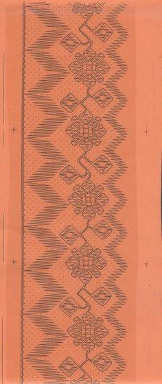 Puntilla-3 Bobbin Lace Patterns, Embroidery Patterns, Bobbin Lacemaking, Fiber Art, Projects To Try, Crafts, Inspiration, Manga, Bobbin Lace