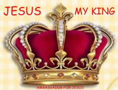 JESUS † MY KING... ♥