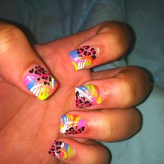 Solar nails with design