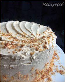 Receptelő: Az imádott KARAMELL TORTA Vanilla Cake, Pie, Sweets, Food, Cakes, Caramel, Torte, Cake, Good Stocking Stuffers