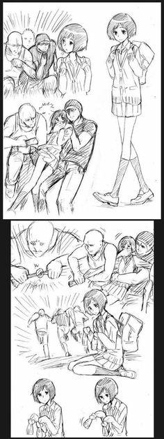 I think the orginal idea was they wanted to make a new hentai joke which turned into a hand-tie joke #anime #memes #funny #manga