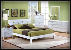 Kamar Tidur Jepara Cover Hijau, kamar tidur duo terbaru, kamar tidur duco cat putih