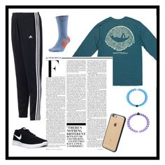 """Untitled #77"" by bryannaturn on Polyvore featuring adidas, NIKE, Nicki Minaj and Incase"