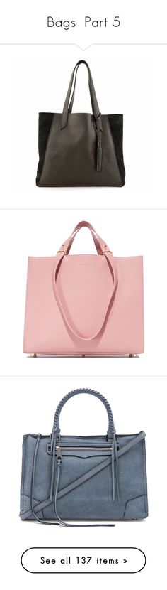 """Bags \ Part 5"" by olinka1408 on Polyvore featuring bags, handbags, tote bags, genuine leather tote, leather handbags, laptop tote bag, leather tote bags, lightweight leather tote, blush i pink tote bags"