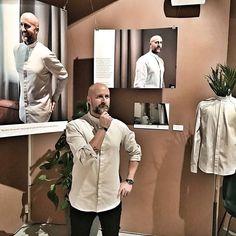 Regramming field-tester dominating the corner at our event, looking 🤩 in the Men's Raglan Shirt 👌🏻 📷: . Raglan Shirts, Oslo, Sustainable Fashion, Entrepreneurship, Norway, Gentleman, Corner, Change, Gentleman Style