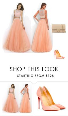 """""""Bez naslova #1"""" by lejlaramo ❤ liked on Polyvore featuring Christian Louboutin and Gucci"""