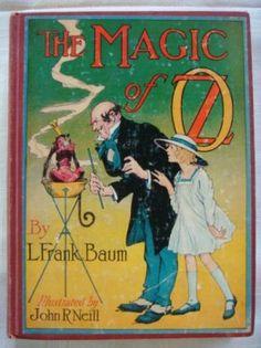 Magic of Oz Book Vintage by L Frank Baum $39