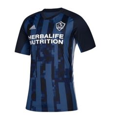 LA Galaxy 2019 Away Men Soccer Jersey Personalized Name and Number Item Specifics Brand: Adidas Gender: Men's Adult Model Year: 2019 Material: Polyester Type of Brand Logo: Embroidered Type of Team Badge: Embroidered Soccer Uniforms, Names, Tops, La Galaxy, Football Shirts, Unitards, Football Uniforms