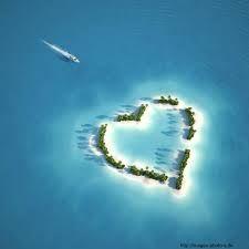 Sommer Sonne Meer Urlaub Liebe Herz Strand