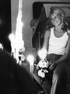 missbrigittebardot: Brigitte Bardot on her 30th birthday, 1964