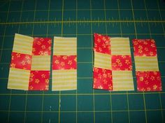 TLC Stitches: Tutorial: Nine Patches