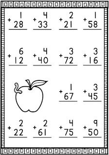 First Grade Math Worksheets, Kindergarten Worksheets, 2nd Grade Reading Comprehension, Phonics Chart, Math Sheets, French Language Lessons, Math Workbook, First Day School, Math Addition