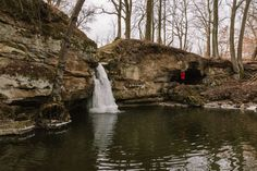 Czech Republic, Waterfall, Travelling, Outdoor, Outdoors, Outdoor Living, Bohemia, Garden, Waterfalls