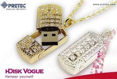 i-Disk USB 1 Gig Memory Stick - Vogue - Silver (PGIFTSO331) - Perkal Corporate Gifts