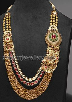Antique Haram with Designer Motifs