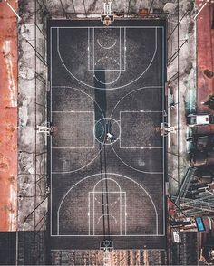 """18k Likes, 49 Comments - designboom magazine (@designboom) on Instagram: """"basketball court in shanghai captured by #drone  . . . more #dronephotography online on…"""""""