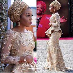 Amazing Latest Africa fashion clothing looks Ideas 5359729122 Nigerian Lace Styles, Aso Ebi Lace Styles, Nigerian Dress, African Lace Styles, Lace Dress Styles, African Lace Dresses, Latest African Fashion Dresses, Nigerian Bride, Nigerian Weddings