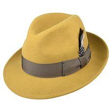 Jaxon & James Crushable C-Crown Fedora - Black from Village Hats. Brim Hat, Fedora Hat, North Face Hat, Hat Size Chart, Mad Hatters, Newsboy Cap, Hat Sizes, Mustard Yellow