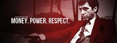 Download this high quality Scarface Money Power Respect Facebook Cover here on FB Cover Street!